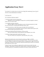 Essay for admissions in criminal justice