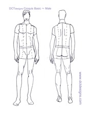 costume design outlines