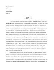 Lost.docx