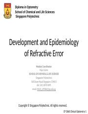 Development and epidemiology of refractive error.pptx