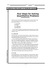 Chemfile -  Solving Quantitative Problems.PDF