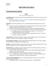 FSHD 323 Test 1 study guide part 2.docx