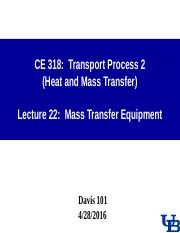 0428 Lecture-22 Mass transfer equipment.ppt