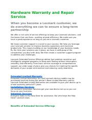 Hardware Warranty and Repair Service.docx