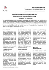 2 - ICRC IHL and IHRL similarities and differences