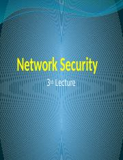 Network Security-lecture3