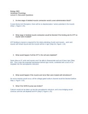 Discussion questions lecture 5 -- answers