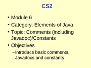 CS2_06_Comments_Constants