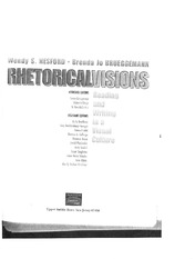 Rhetorical Visions Reading (Chapter 1)