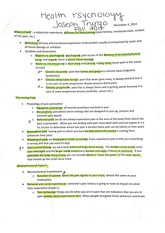 Pain Notes Study Guide