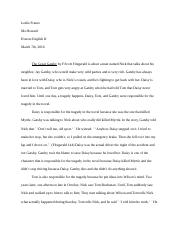 The Great Gatsby- Final Essay Leslie Franco .docx