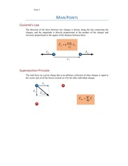 SP Main Points 01 - Coulomb_s Law