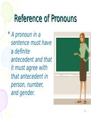 REFERENCE OF PRONOUN.ppt