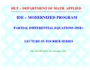 PDE 1011 Lec 03 Fourier (Student)