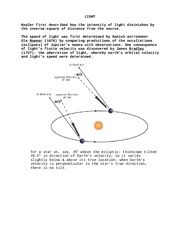 04 Light spectra telescopes errors radioactivity rockets least energy orbits lunar trajectories