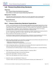 lab researching networking standards essay Do you ever feel you were unprepared for a career as the head of a research lab a lab manager to know where the lab is your lab 3 set clear standards and.
