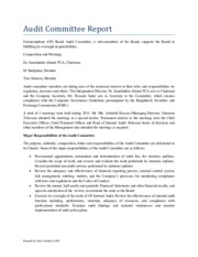 Audit Committee Report-Gramminphone-Final