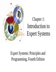 chapter01 - expert systems.ppt