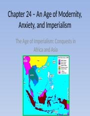 Chapter 24 – An Age of Modernity pt.2