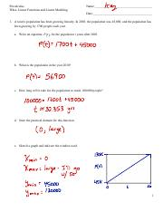Key- Wkst- Linear Functions and Linear Models (1).pdf