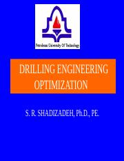 2-DRILLING ENGINEERING OPTIMIZATION.ppt