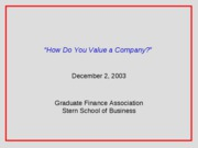 How_to_valuation_a_company