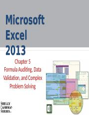 Ch05-Formula Auditing-Data Validation-and Complex Problem Solving