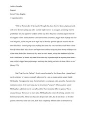 Exploration of a Rich Passage Essay
