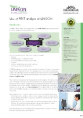 Case Unison union PEST analysis