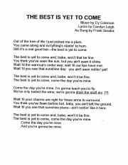 The Best Is Yet To Come - Sinatra Vocal or Big Band Feature.pdf