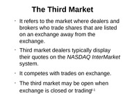 The Third Market