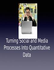 Lecture 04- Turning Social and Media Processes into Quantitative Data post