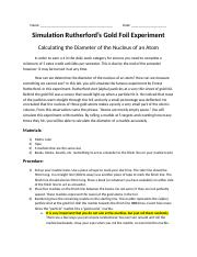 Rutherfords Gold Foil Experiment.docx