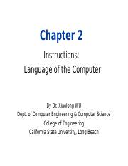 Chapter 2 Instructions Language of the Computer_341.ppt