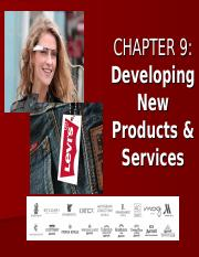 BUSMKT 1040 Chapter 9 Developing New Products and Services.ppt