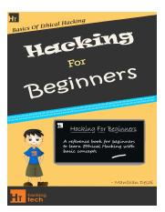 Hacking For Beginners - a beginners guide for learning ethical hacking.pdf