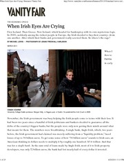 When Irish Eyes Are Crying _ Vanity Fair
