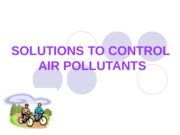 11. CONTROL OF AIR POLLUTANTS