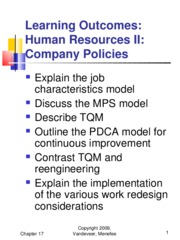 Chapter 17 - Human Resources II (2)
