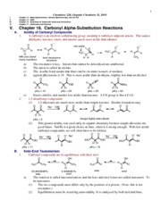 Chem228 Chapter18 alphaReactions