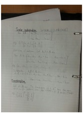 Scalar Multiplication Class Note
