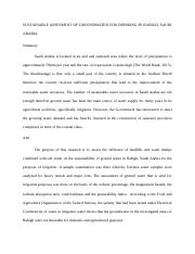 SUSTAINABL ASSESMENT OF GROUNDWATER FOR DRINKING - Copy - Copy (2).docx