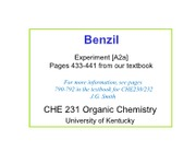 Benzil_lecture