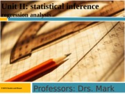 11.Testing Regression Analysis