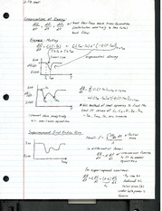 Lecture Notes - Conservation of Energy