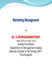 Dr GM - Marketing Class PPT Part 1 2017.ppt