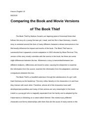 The Book Thief Comparitive Essay.docx