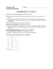 Sample Exam1