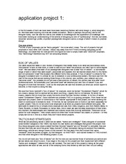 IAT 338 Application Project