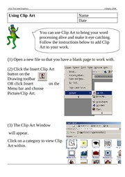 adding_clipart_using_words